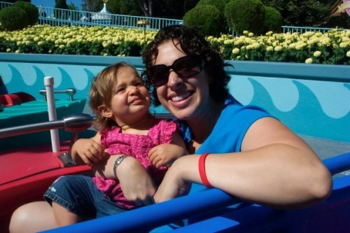Hands down, Emma's favorite ride was It's a Small World. Watching her eyes bug out of her head with excitement as she floated through was the highlight of the trip for me.